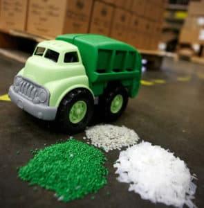 100% rezyklierter Plastik