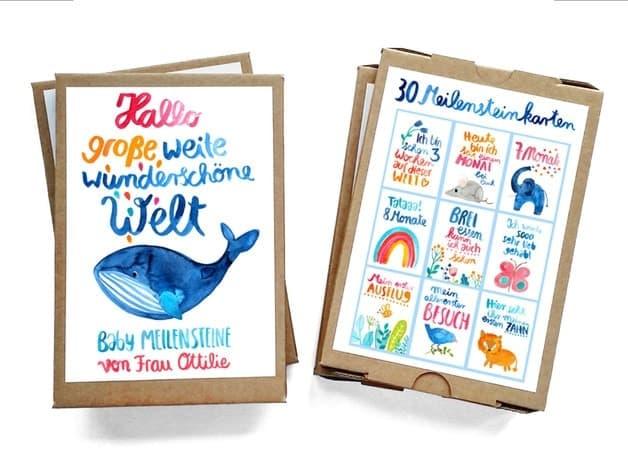 Meilensteinkarten von Frau Ottilie