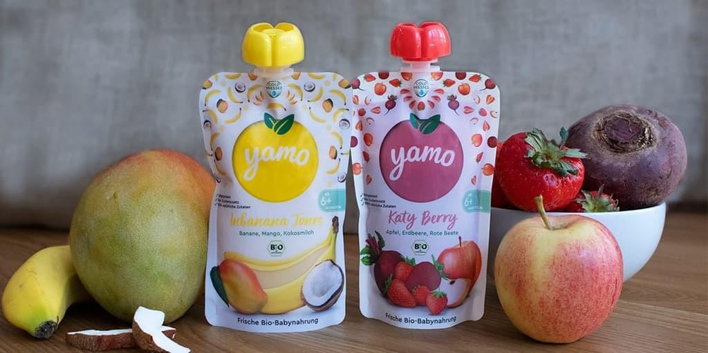 Die yamo Bio-Babynahrung – Voller guter Dinge