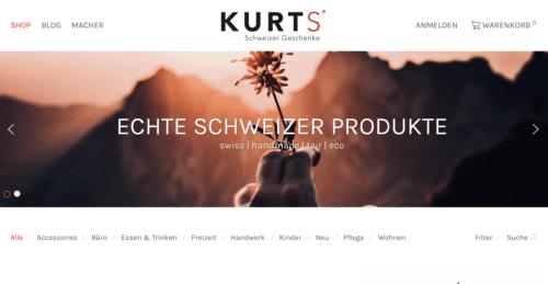 KURTS.CH – SCHWEIZER GESCHENKE