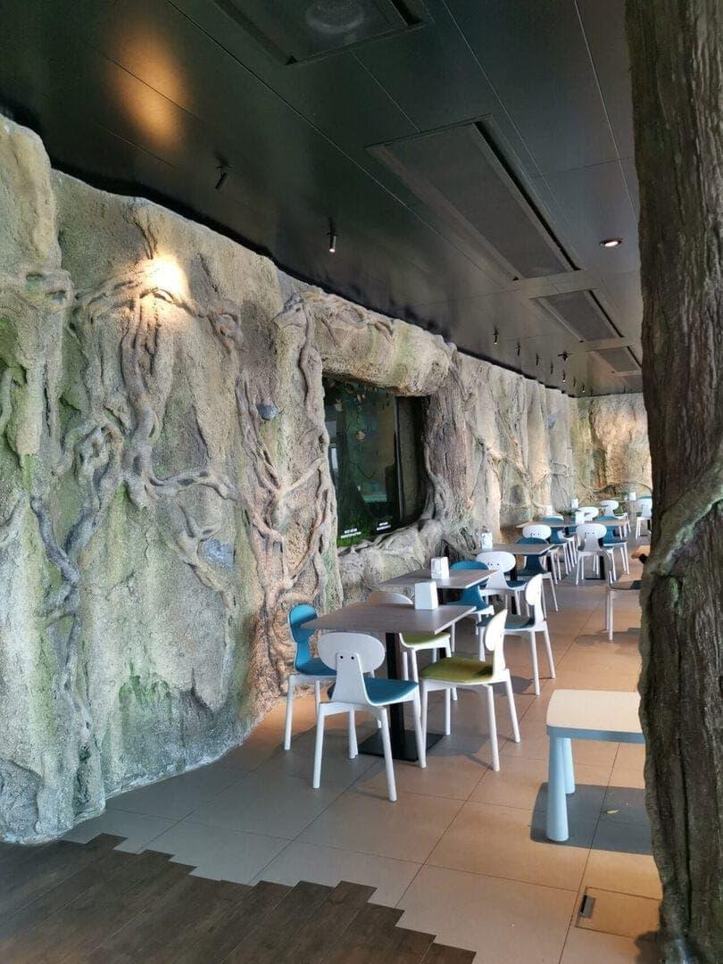 Deep Blue See Adventure – Süsswasser-Aquarium-Vivarium Aquatis in Lausanne