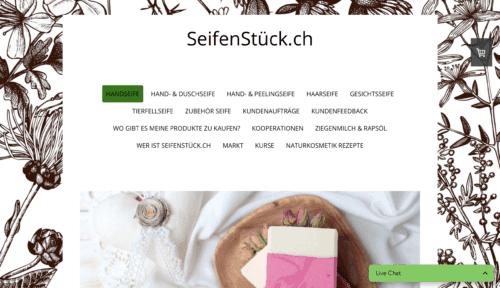 SEIFENSTÜCK.CH – Nachhaltiger Onlineshop