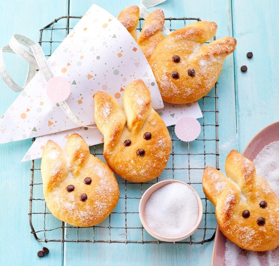 Thermomix®-Rezepte: Oster-Cake-Pops & Cookidoo® Quark-Osterhasen