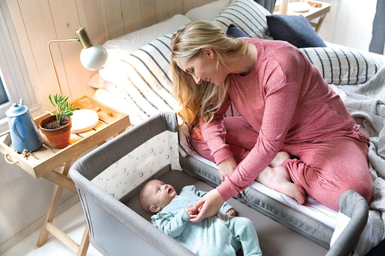 Baby im Elternzimmer – unbedingt. Kind im Elternzimmer – lieber nicht!