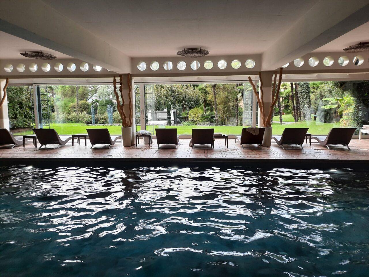 ERLEBNISBERICHT: Dolce far niente ausser mit der Sonne, Natur und Seesicht aus dem Grand Hotel Villa Castagnola geniessen