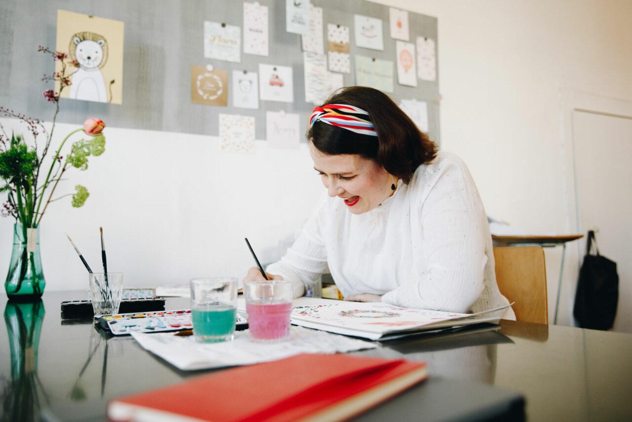MEMBER SPOTLIGHT: Aline Ledergerber Tschantré kreiert Karten mit (ganz viel) Liebe und Fleiss