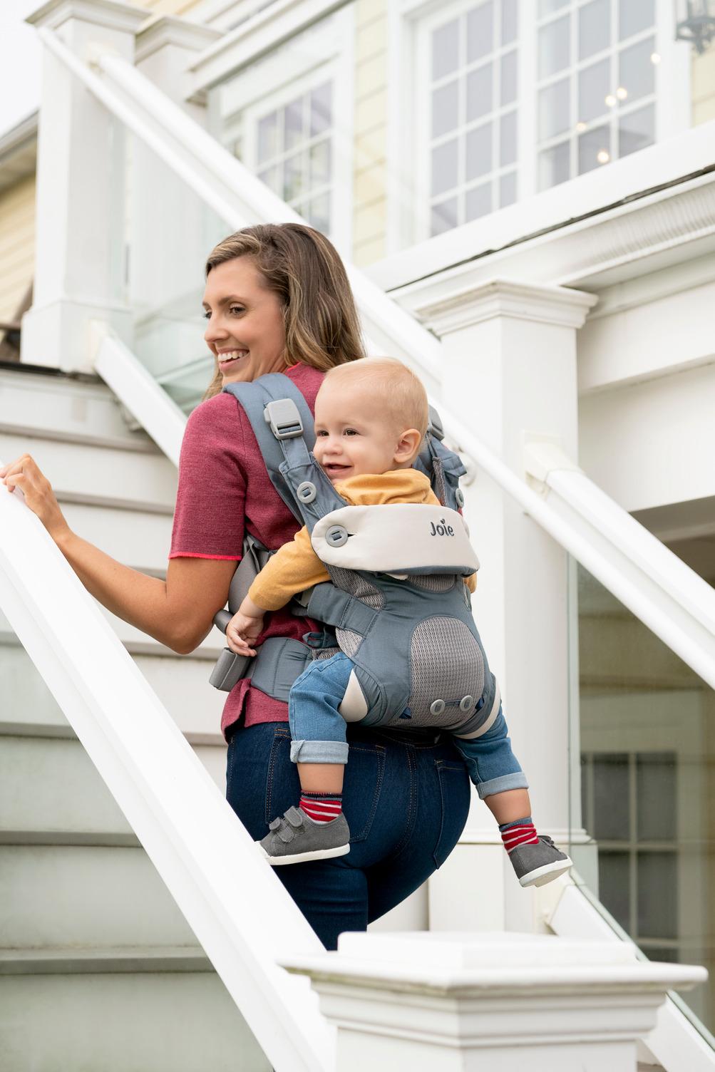 10 Vorteile, dein Baby sicher zu tragen