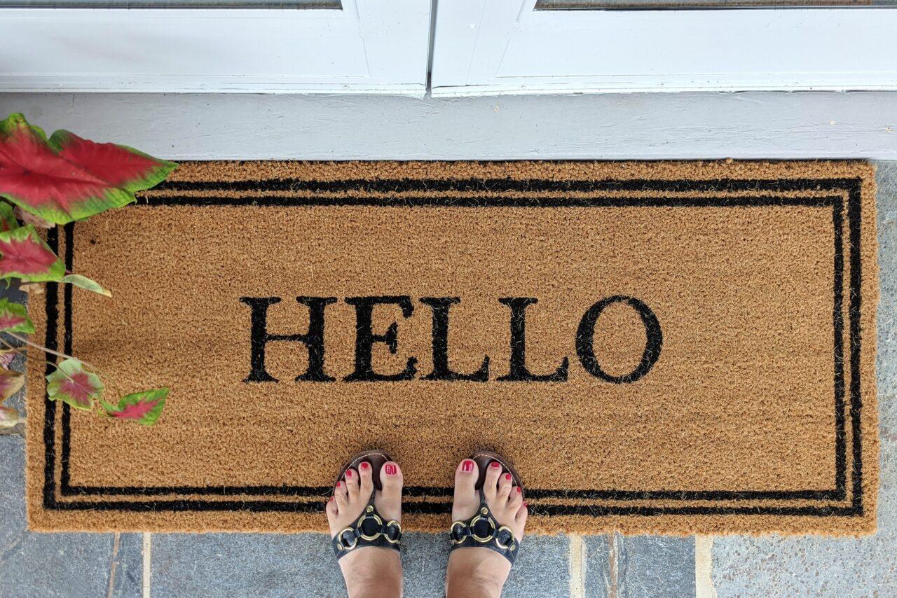 Feng Shui beginnt vor deiner Haustür